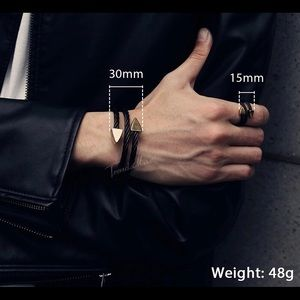 Other - Men's Jewelry Set Bracelet and Ring